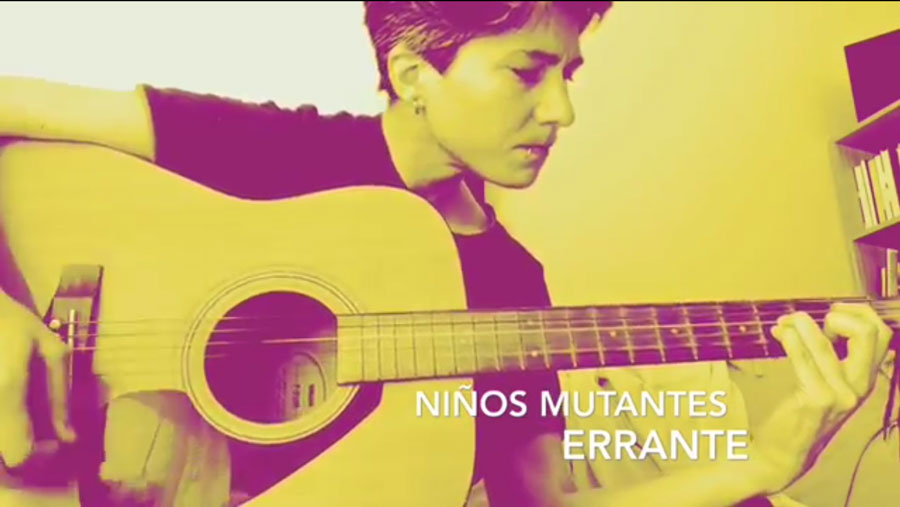 Errante, Niños Mutantes. (cover)